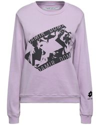 Damir Doma X Lotto Sweatshirt - Lila