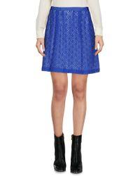 Marc By Marc Jacobs Mini Skirt - Blue