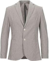 0/zero Construction Suit Jacket - Grey