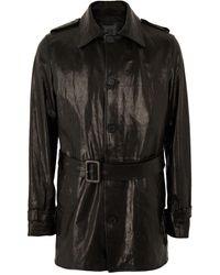 8 by YOOX Overcoat - Black