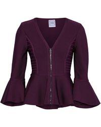 Hervé Léger Suit Jacket - Purple