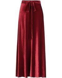 Silvian Heach Long Skirt - Red