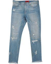 424 Denim Trousers - Blue