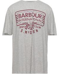 Barbour T-shirts - Grau
