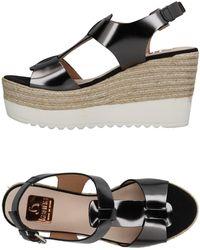 Kanna Sandals - Grey