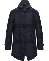 Alpha Studio Coat - Blue