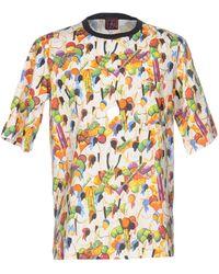 Stella Jean T-shirt - Natural