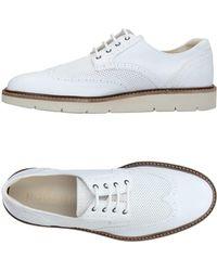 Hogan Zapatos de cordones - Blanco