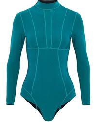 Mikoh Swimwear Bañador deportivo - Azul