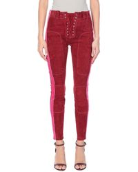 Unravel Project Pants - Red