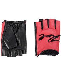 Karl Lagerfeld Gloves - Red