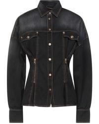 Versace Camicia jeans - Nero