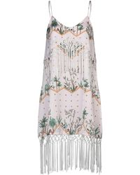 Glamorous Knee-length Dress - Multicolour
