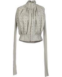 Rick Owens Lilies Jacket - Grey