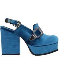 Tipe E Tacchi Court Shoes - Blue