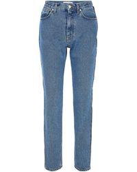 Christopher Kane Denim Trousers - Blue