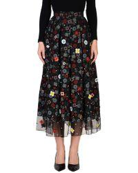 Holly Fulton 3/4 Length Skirt - Black