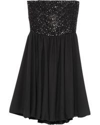 Carla Montanarini Short Dress - Black