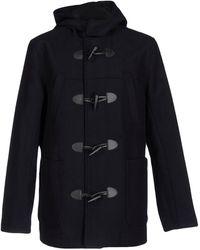 TOPMAN Coat - Black