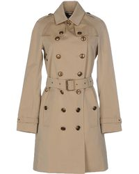 Burberry Brit Full-length Jacket - Natural