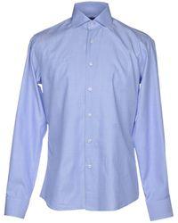 Tru Trussardi Camisa - Azul