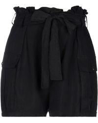 WEILI ZHENG Shorts & Bermuda Shorts - Black