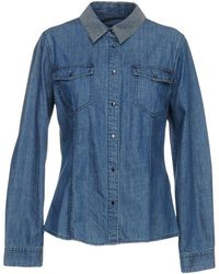 Armani Jeans - Camicia jeans - Lyst
