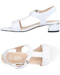 NICOLA SEXTON Sandals - White
