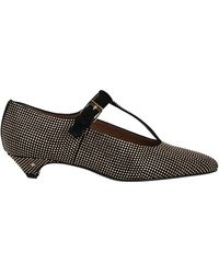 Laurence Dacade Court Shoes - Black