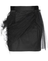 Y. Project Mini-jupe - Noir