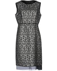 Marc Jacobs Vestido midi - Negro