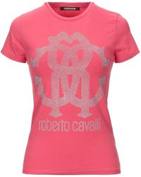 Roberto Cavalli T-shirt - Rose