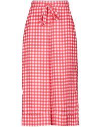 Pinko 3/4-length Pants - Red