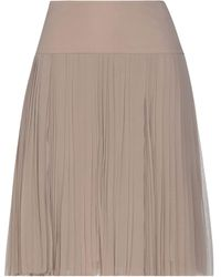Cruciani Midi Skirt - Brown