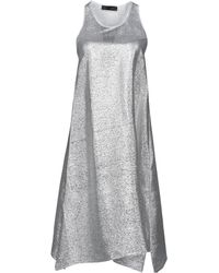 Satine Label - Knee-length Dress - Lyst