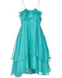 Daniele Carlotta Midi Dress - Green