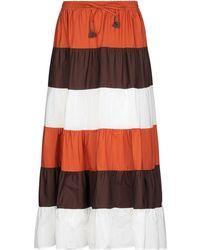 Souvenir Clubbing Falda larga - Naranja