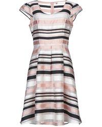Yumi' Knee-length Dress - Pink