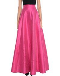 Hanita Long Skirt - Pink