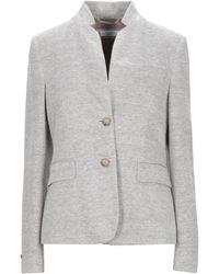 Peserico Suit Jacket - Gray