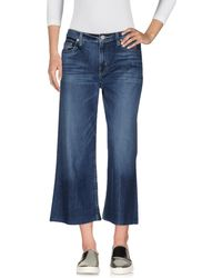Hudson Jeans - Pantacourt en jean - Lyst
