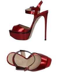 Le Silla Sandals - Red