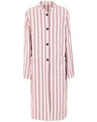 Massimo Alba Overcoat - Pink