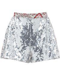 Paco Rabanne Shorts - Metallic
