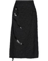 N°21 3/4 Length Skirt - Black