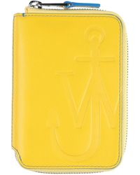 JW Anderson Wallet - Yellow