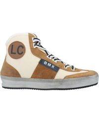 Leather Crown Sneakers - Natur