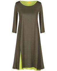 Almeria Knee-length Dress - Green