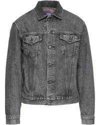 Acne Studios Capospalla jeans - Nero