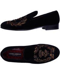 Dolce & Gabbana Mokassin - Schwarz